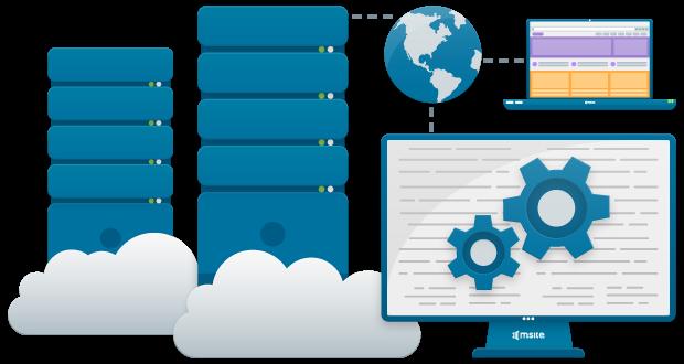 Virtual Private Server (VPS) website hosting service