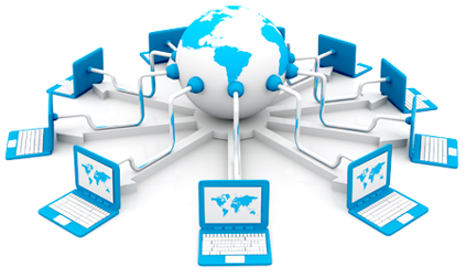 Shared website hosting service