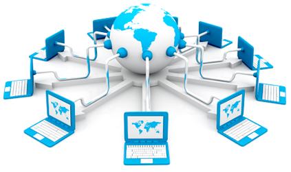 Shared website hosting service